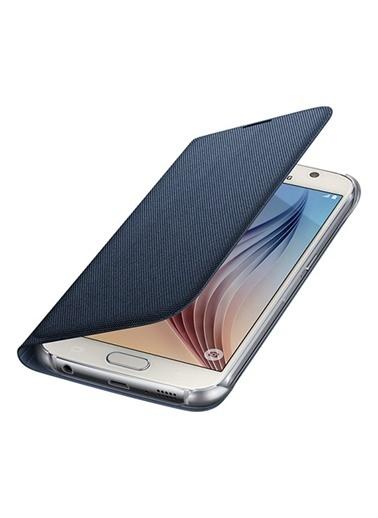 Samsung Samsung Galaxy S6 Uyumlu Flip Wallet Orjinal Telefon Kılıfı Renkli